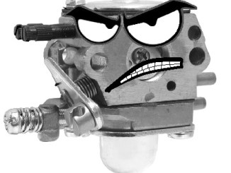 Angry 2-Cycle Carburetor