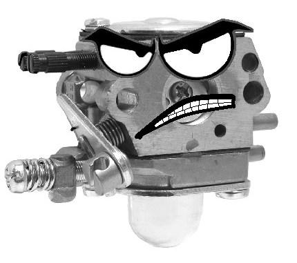 Angry 2-Cycle Carburetor