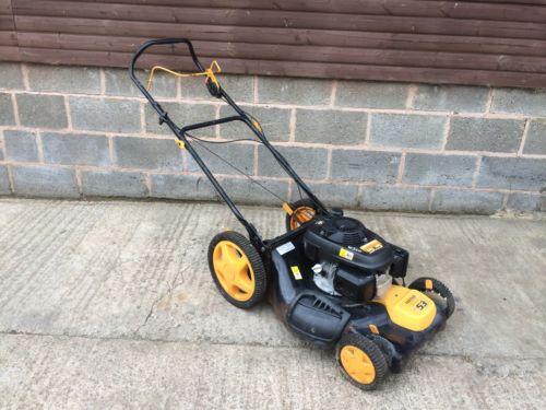 Mower Mulching Lawn