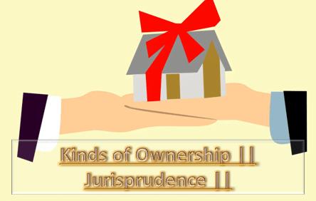 kinds of ownership jurisprudence