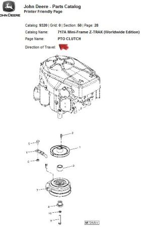 Broken PTO clutch wire  JD717A | LawnSite