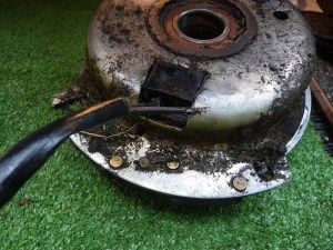 Broken PTO clutch wire  JD717A | LawnSite
