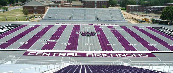 Central Arkansas University turf