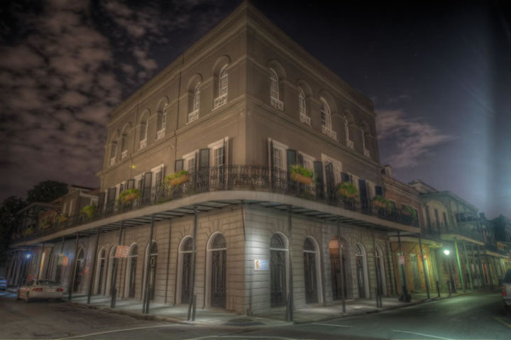 New Orleans haunted