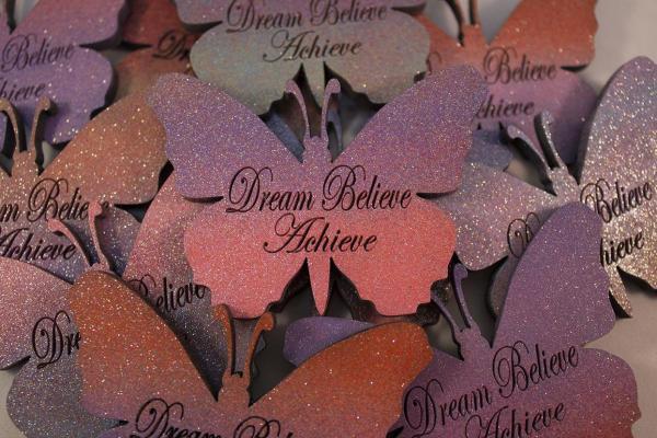 butterfly shape magnetic dream believe achieve