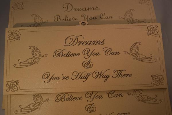 Dreams believe you can