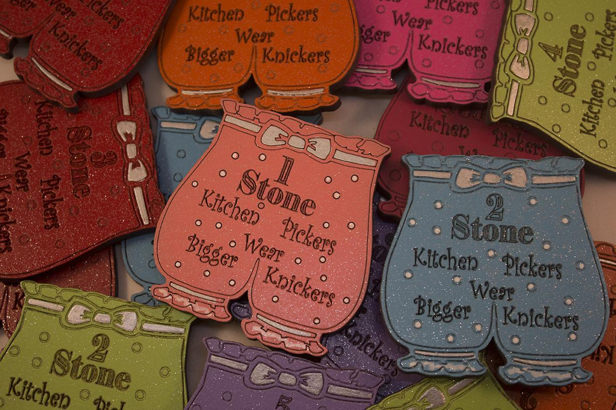 knickers shape stone losses