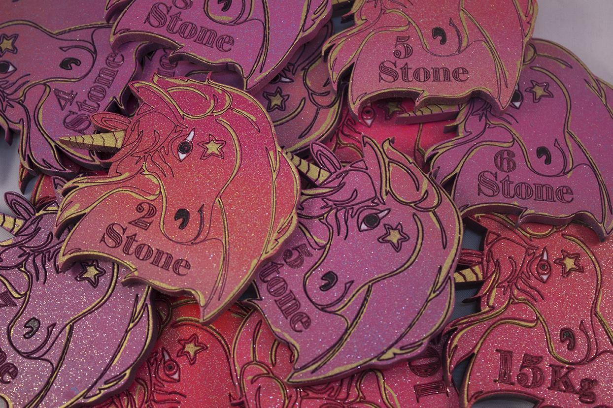 unicorn shape magnetic stone losses