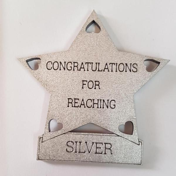 Reaching silver star