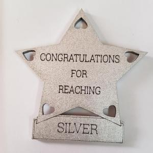 Reaching silver star