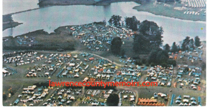 Lawrence County Memoirs National Scout Jamboree 1973
