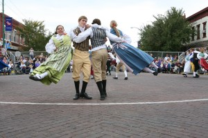 Students carrying forward a Swedish community's dance heritage