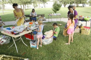 Art projects in the park