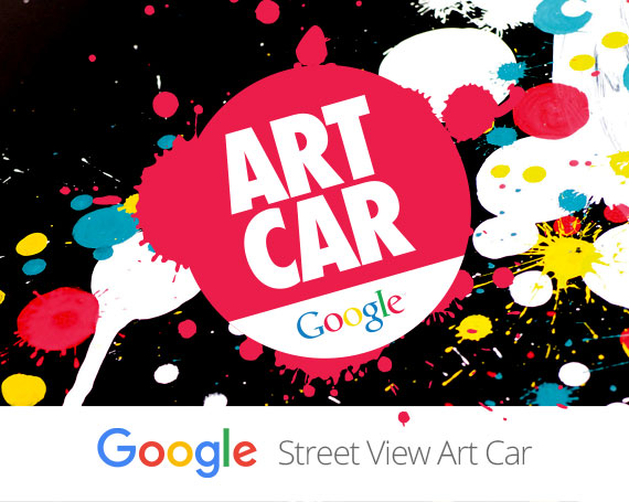 Google Street View – Art Car Germany