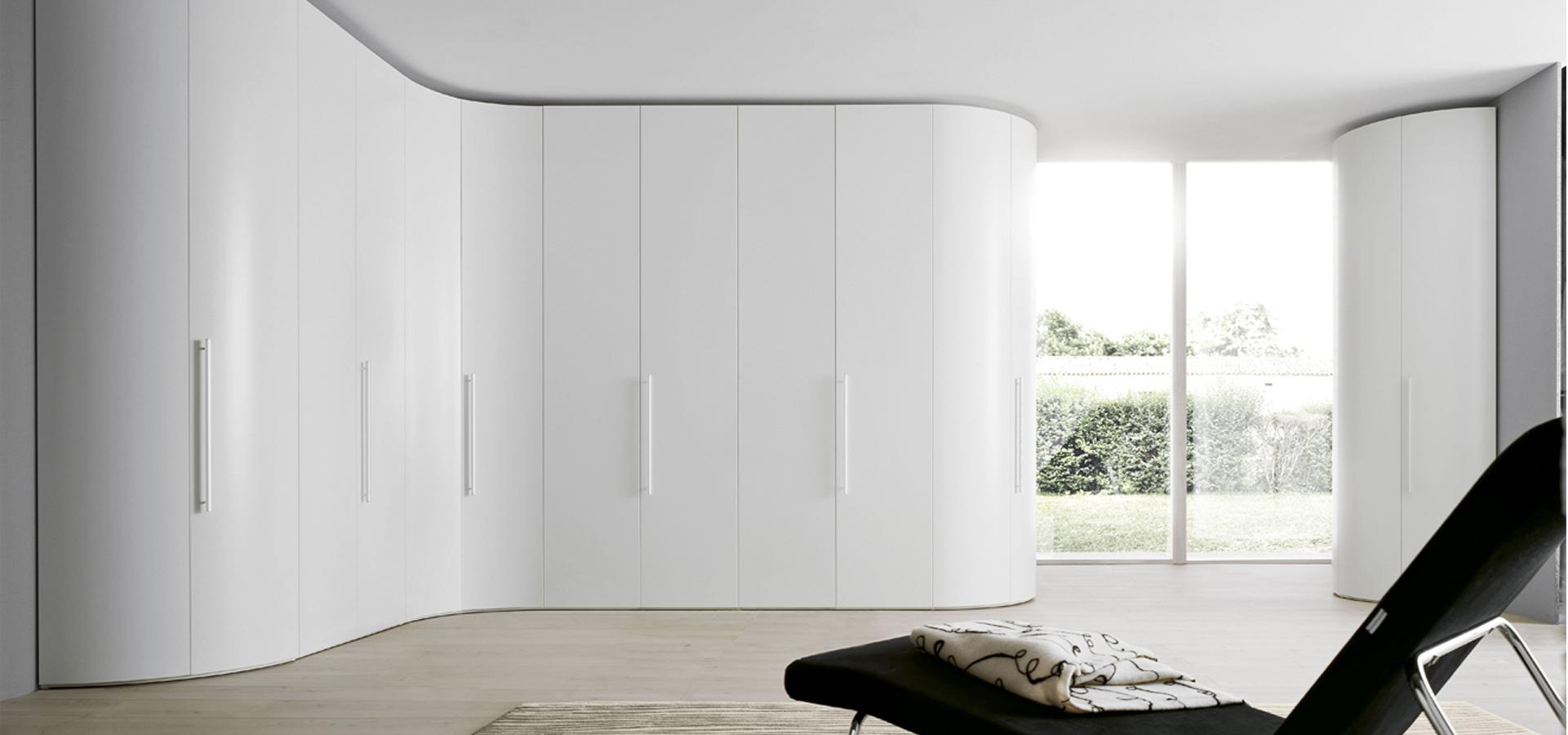 Alfa Curve Fitted Bedroom Furniture Wardrobes UK Lawrence Walsh Furniture