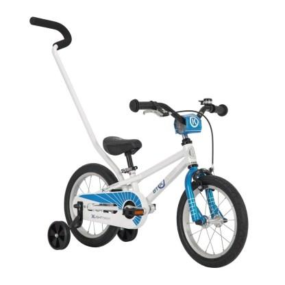ByK E-250 Blue Boys Bike Front