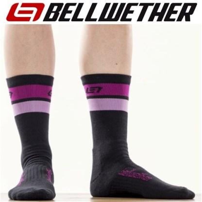 Bellwether Powerline Cycling Socks Fuchsia