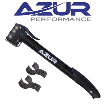Azur Cyclone Dual Head Mini Bike Pump