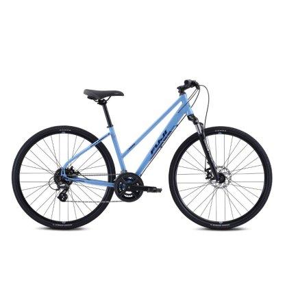 2021 Fuji Traverse 1.5 Hybrid Bike ST - Blue Hero