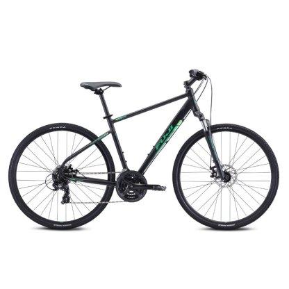 2021 Fuji Traverse 1.7 Hybrid Bike - Satin Black Hero