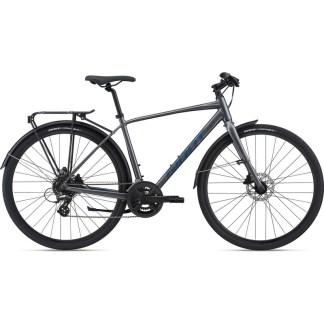 Giant Cross City Disc 2 Equipped Flat Bar Road Bike 2022 Hero