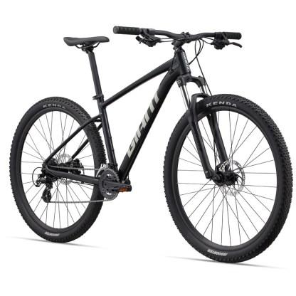 Giant Talon 4 Mountain Bike   Metallic Black 2022 Front