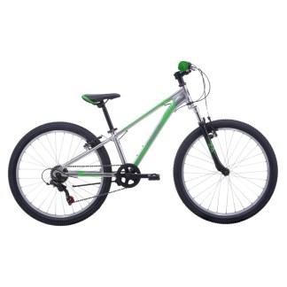 Malvern Star Attitude 24 Kids' Bike | Silver/Green 2022