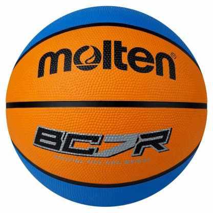 Molten BCR2 Series Basketball - Size 7 - Orange/Cyan