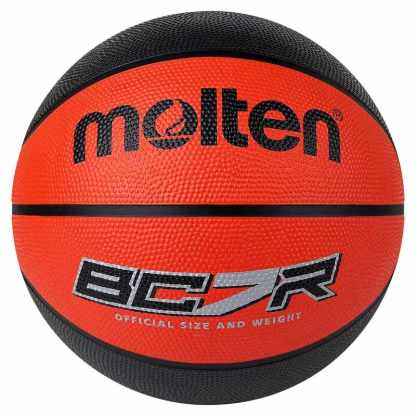 Molten BCR2 Series Basketball - Size 7 - Red/Black