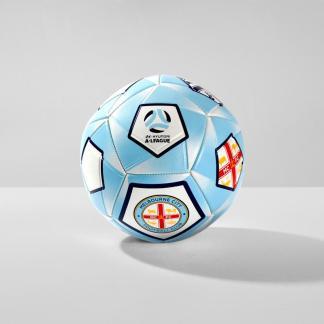 Melbourne City A-League Soccer Ball - Size 1