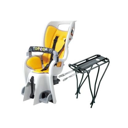 Topeak Babyseat II & Babyseat II Rack Child Seat Hero