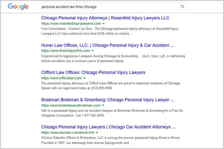SEO personal accident law firms Chicago How to Drive Client Growth with Digital Marketing and a CRM Solution