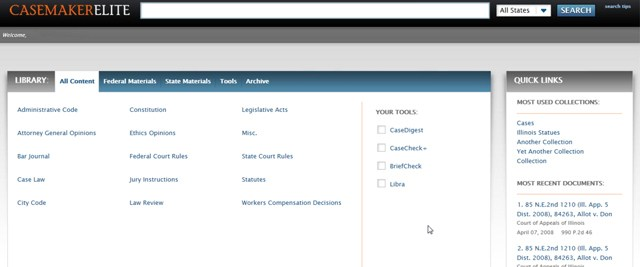 Casemaker Prepares to Roll Out Major Upgrade of its Interface