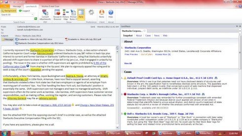 Lexis for Microsoft Office - Background Information