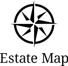 Estate Map Logo Full Up Down