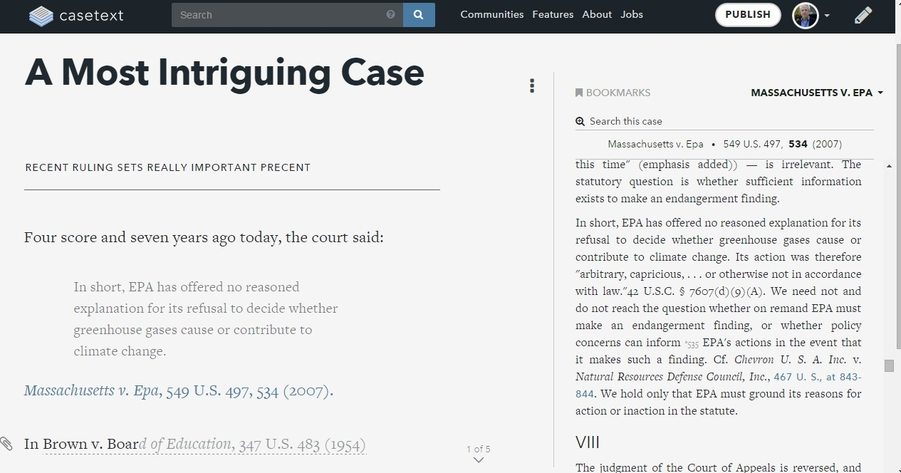 Casetext Launches LegalPad, A Writing and Publishing Tool for ...