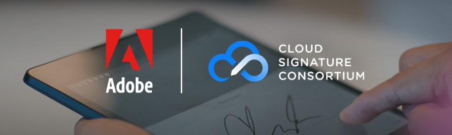 Adobe Spearheads Consortium To Build Open Standard for Cloud Digital Signatures