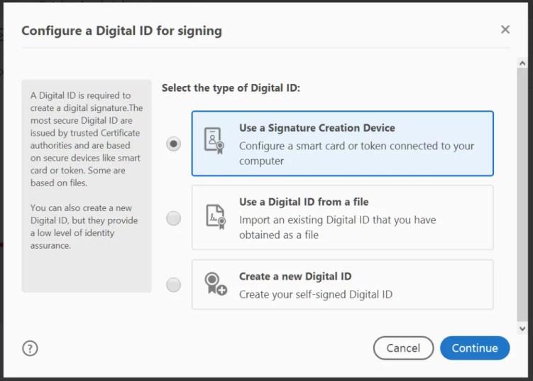 adobe digital id