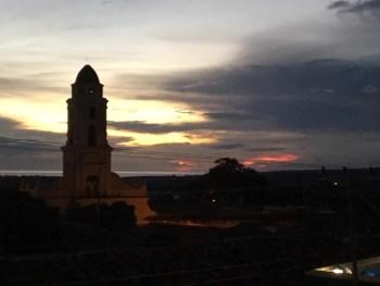 Trinidad sunset.
