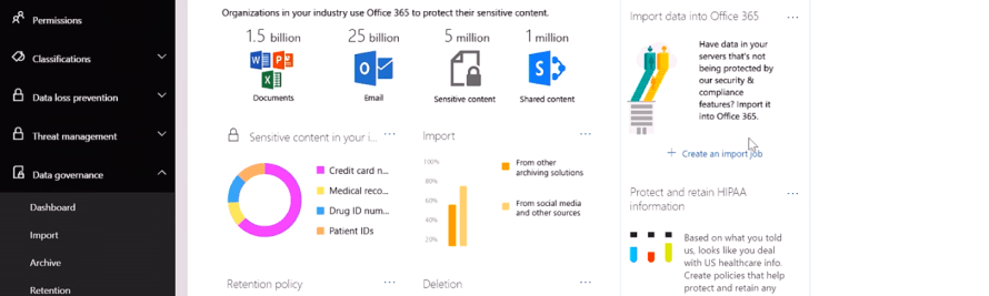 Microsoft Launches Preview Version of Machine-Learning Data Governance Tool for Office 365