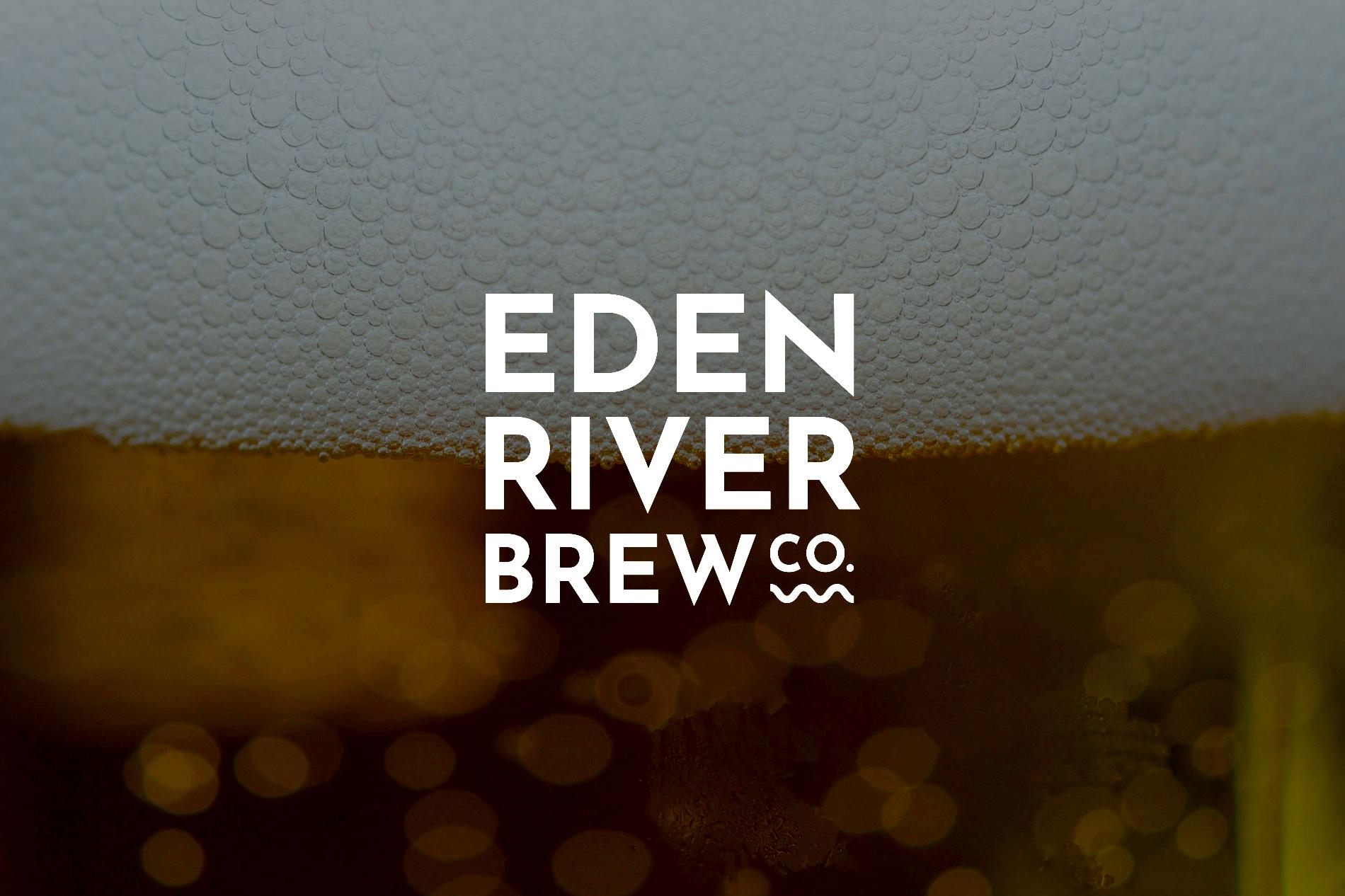Eden River Brew Company Brand design