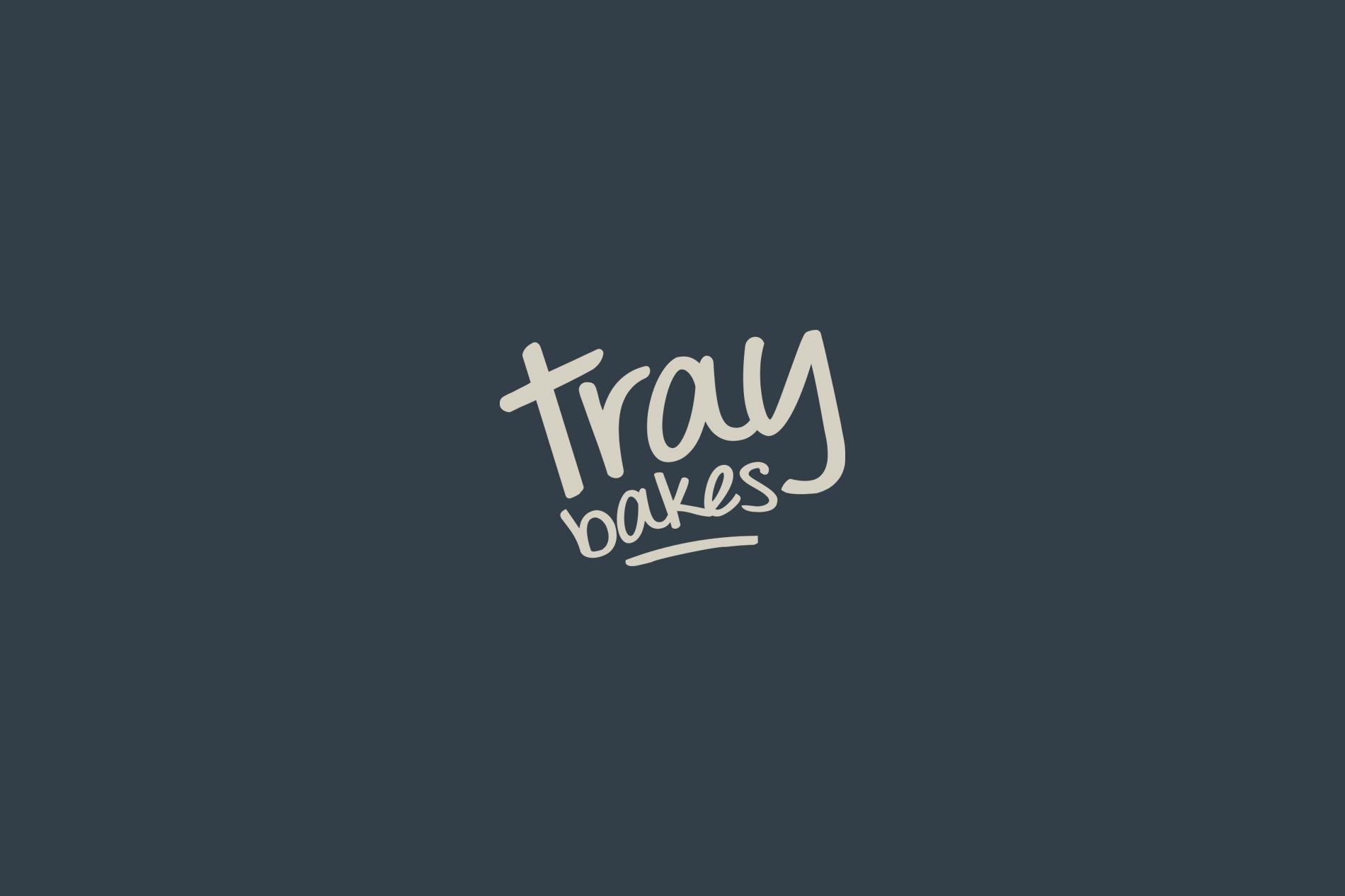 Traybakes logo design, branding