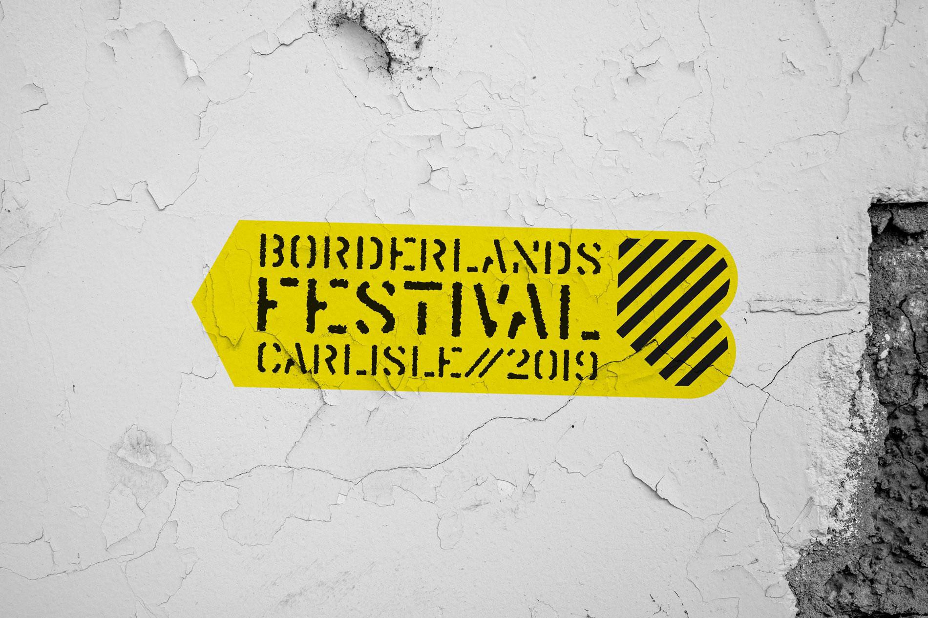 Eden Arts Borderlands 2019 Brand Identity Concepts Carlisle