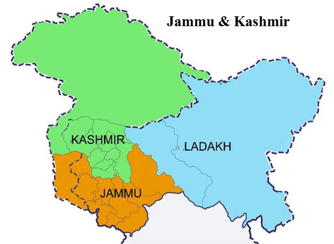 Jammu & Kashmir Ceases To Be A State From 31.10.2019; Ut's Of J&k And Ladakh Come Into Existence