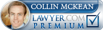 Collin McKean Lawyer Badge
