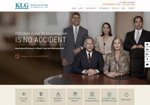 Karns Law Group website thumbnail