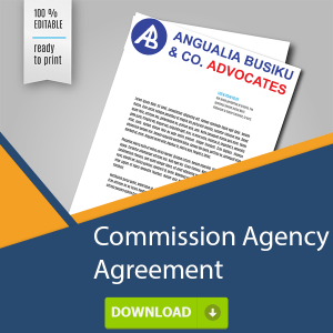 COMMISSION AGENCY AGREEMENT
