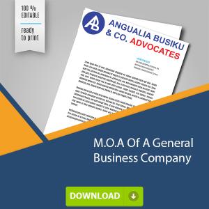MEMORANDUM AND ARTICLES OF ASSOCIATION OF A GENERAL BUSINESS COMPANY https://www.lawyers-uganda.com/wp-content/uploads/2020/08/logo21.png