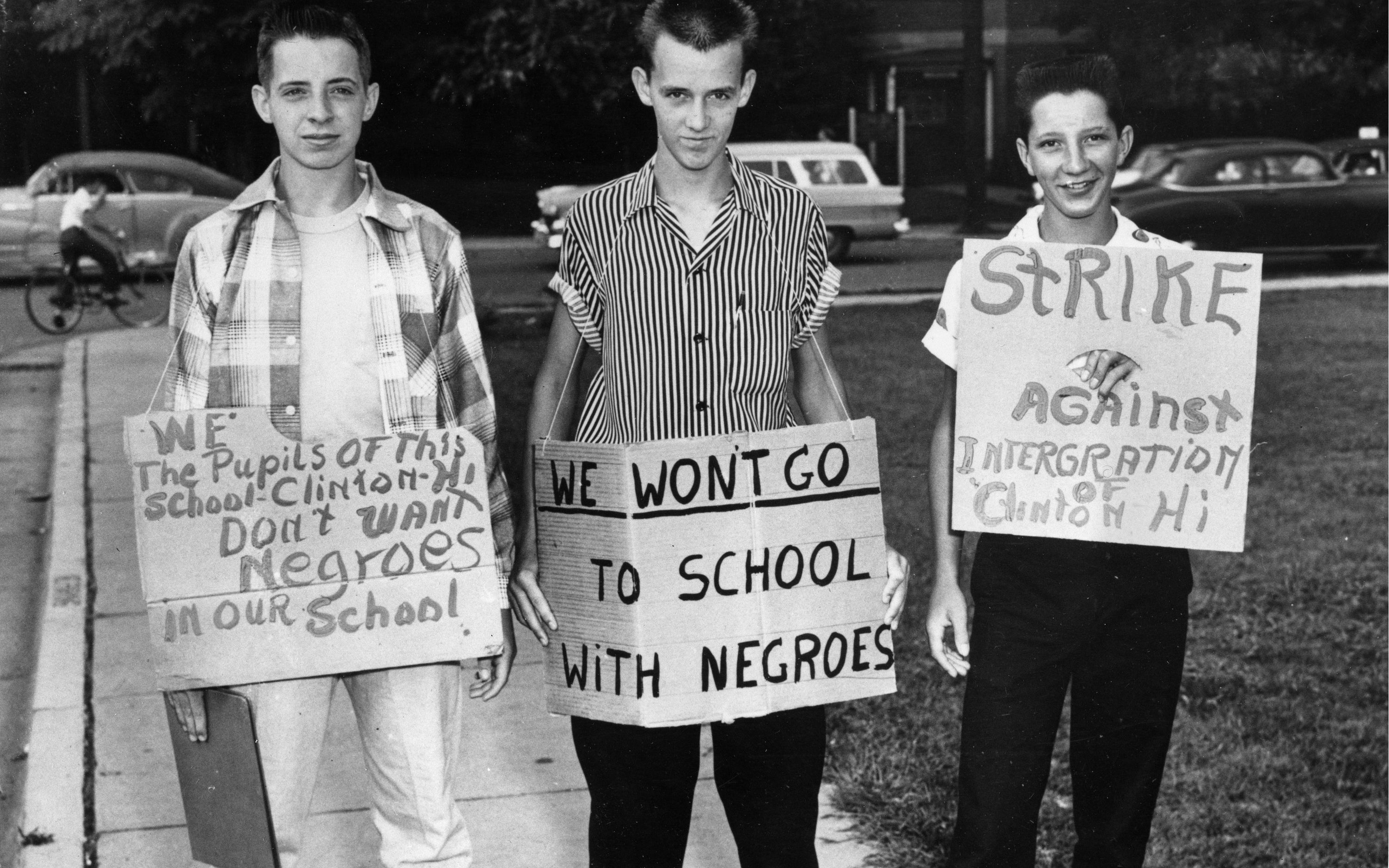 School Segregation The Evil Of A Racist Nation