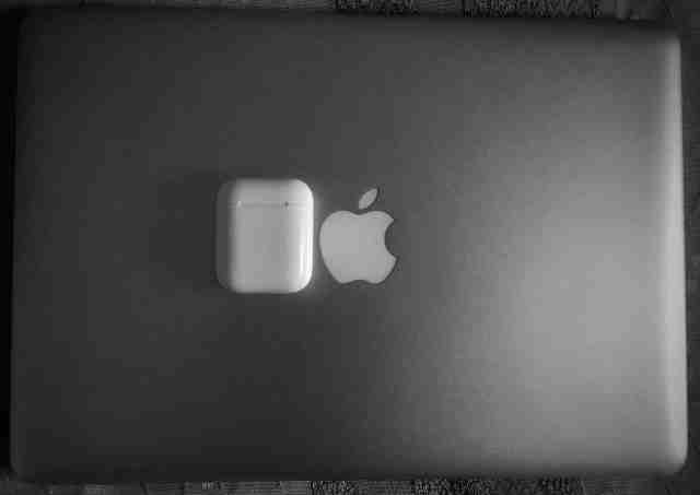 My AirPods and MacBook Pro 2012